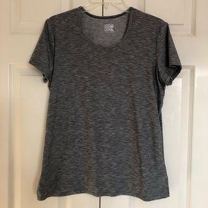 Grey Dri-fit workout shirt